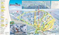 Jiminy Peak trail map