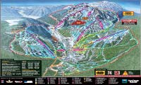 Sun Peaks Resort trail map
