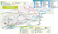 Mont-Sainte-Anne trail map