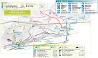 Mont-Sainte-Anne trail map