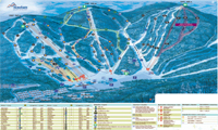 Stoneham Mountain Resort trail map