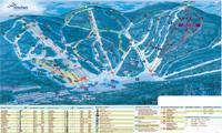 Stoneham Mountain Resort trail map