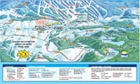 Mount Washington Alpine Resort trail map