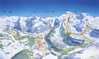 Engelberg - Titlis trail map