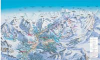 Saas-Fee/Saastal trail map