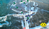 Pass Powderkeg trail map