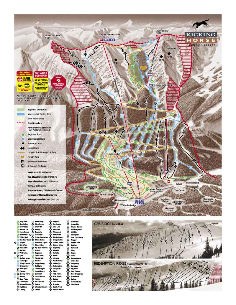 Kicking Horse Ski Map on kicking horse skiing, red mountain ski map, banff ski map, lake louise ski map, kicking horse bike park, kicking horse summer,