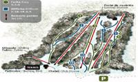Mont Bellevue trail map