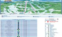 Mont Garceau trail map
