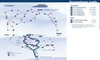 Mont Grand-Fonds trail map