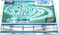 Mont Kanasuta trail map
