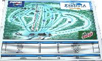 Mont Kanasuta trail map