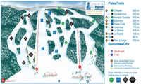 Mont Rigaud trail map