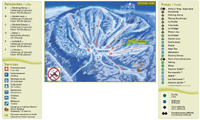 Ski Morin Heights trail map
