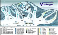 Ski Vorlage trail map