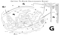 Granlibakken trail map