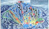 Gunstock Mountain Resort trail map