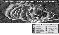 Tabor Mountain trail map