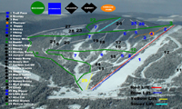 Troll Ski Resort trail map