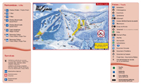 Ski Mont Gabriel trail map
