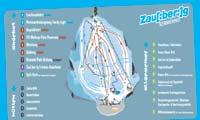 Zauberberg Semmering trail map