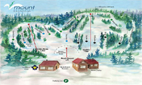 Mount Evergreen Ski Club trail map