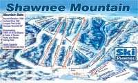Shawnee Mountain trail map