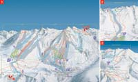Baqueira Beret  trail map