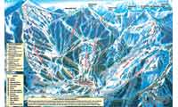 Brighton Ski Resort trail map