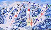 Mt. Spokane Ski & Snowboard Park  trail map