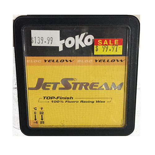 1087 - Toko Top Finish Ski Wax - Jetstream Yellow Ski Wax sale discount price