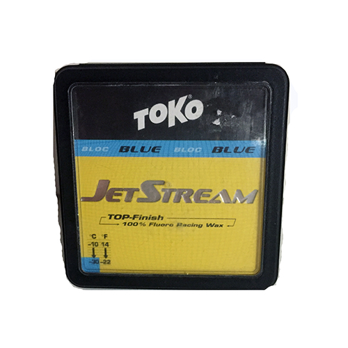 1089 - Toko Top Finish Ski Wax Jetstream Blue Ski Wax sale discount price