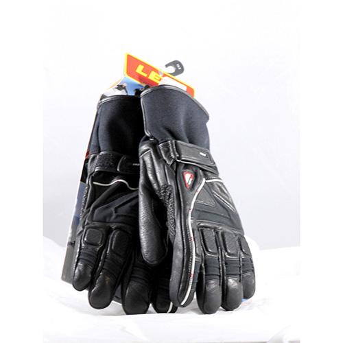 1325 - Leki Griffin L Black 9.5 Ski Gloves sale discount price