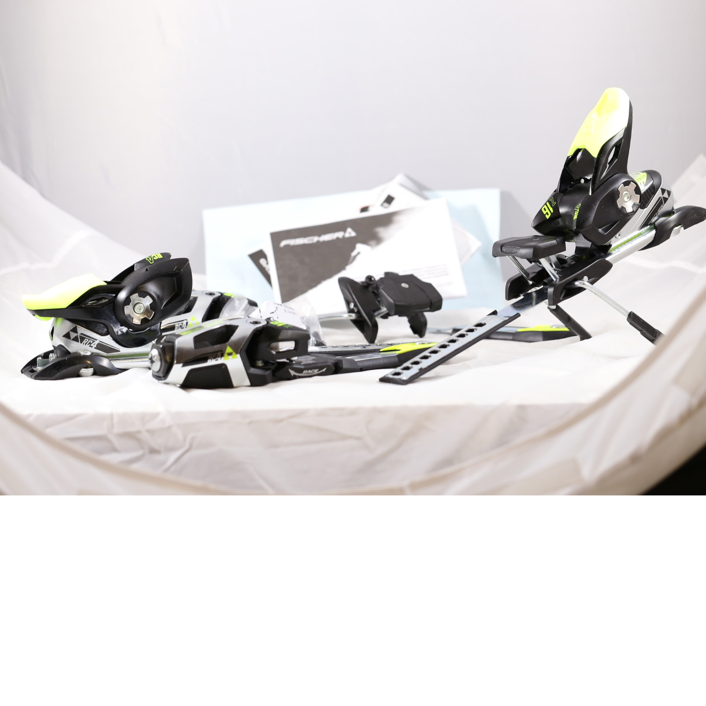 1387 - Fischer RC4 Z 16 Ff X Race Service Brake 85 Alpine Ski Bindings sale discount price
