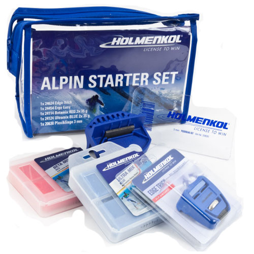 1489 - Holmenkol Alpine Starter Set Ski Wax sale discount price
