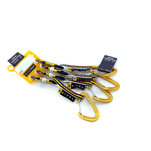 1665 - Grivel Quickeasydraw - Beta Light Pack Of 4 Carabiner / Connector sale discount price