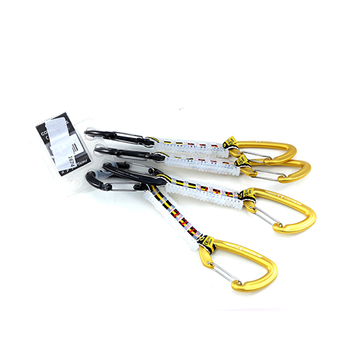 1674 - Grivel Quickeasydraw - Gamma Pack Of 4 Carabiner / Connector sale discount price
