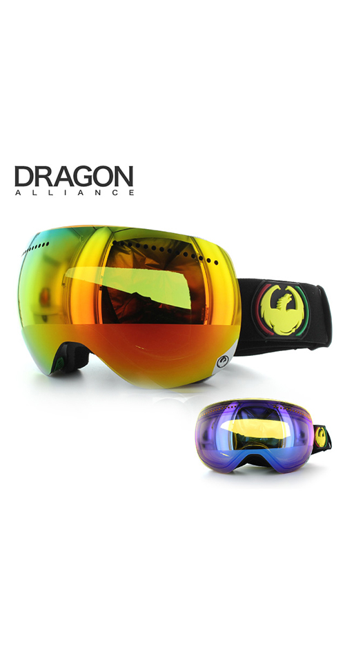 305 - Dragon X Rasta Ski Goggle sale discount price