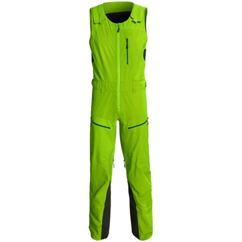 499 - Phenix Black Powder 3L Shell Bib Pants Ski Suit sale discount price