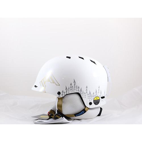 567 - Shred Half Brain White Out Ski / Snowboard Helmets sale discount price