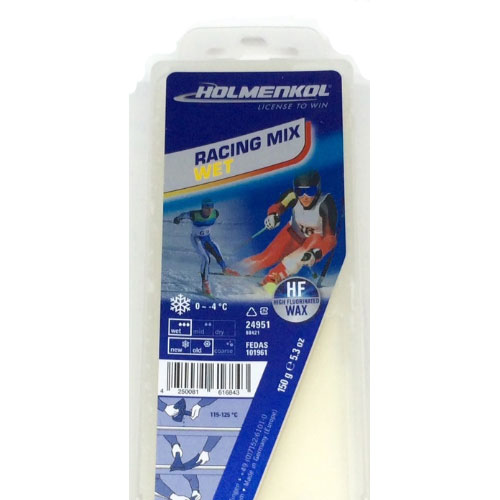 704 - Holmenkol Racing Mix Wet Ski Wax sale discount price