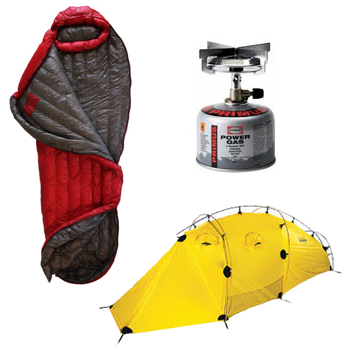Camping gear on sale